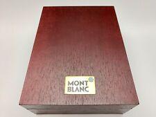 Vintage Montblanc Wooden Fountain Pen Case