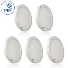 5x 18W LED PIR Motion Sensor Ceiling Panel Light Wall Mounted Downlight Daylight