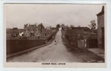 More details for auldbar road, letham: angus postcard (c58914)