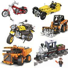 Bausteine Kinder Spielzeug Geschenk OVP Technikfahrzeug, altes Auto