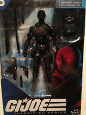 GI JOE Classified SNAKE EYES used OPENED 6 Inch Figure