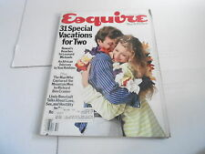 OCT 1985 ESQUIRE mens fashion magazine SPECIAL VACATIONS