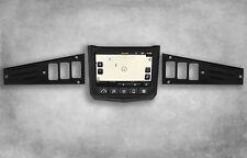 Polaris RZR XP1000 Ride Command Edition Black Dash Panel Plates