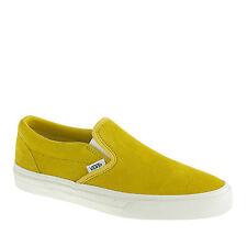 NIB Designer VANS for J.CREW Collection Suede LEATHER Shoes Magenta Green
