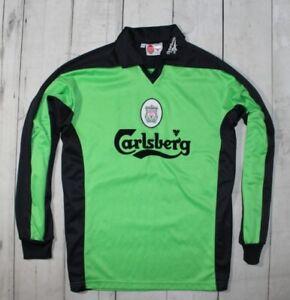 LIVERPOOL ENGLAND 1997/1998 GOALKEEPER FOOTBALL SHIRT REEBOK MAN SIZE 38/40