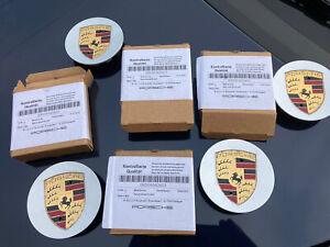 Porsche Wheel Centre Hub Caps - 00004460601