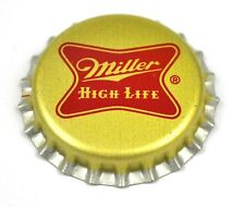 Miller High Life Beer Bier Kronkorken USA Bottle Cap Plastikdichtung