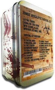 Zombie Apocalypse Survival Kit - Multi-Tool, Fire Starter, Zombie Permit & More