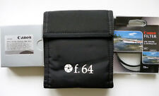 Canon/Kodak/Tiffen Photo Filter Kit: UV Haze +2pcs PL-Circular Polarizer+ Pouch