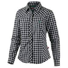 wow Gr.44 Marken Outdoor Funktionsbluse Bluse schwarz kariert FASTDRY UV Schutz