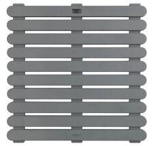 Wenko Plastic Duck board 55 x 55 cm | Grey, White