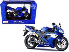 2004 YAMAHA YZF-R1 BLUE BIKE 1/12 DIECAST MOTORCYCLE MODEL BY MAISTO 31102-32712