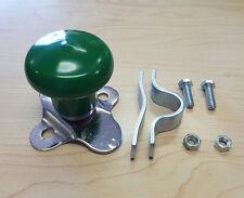 John Deere, JD Universal Tractor Green Vinyl Steering Wheel Spinner Knob WSV121G