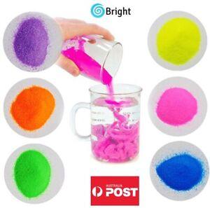 AU SELLER, 300g Magic Sand,Non Wet Sand,Creative Science Kit, 6 Colours