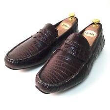 Ralph Lauren Purple Label Conduite Chaussures. peau de crocodile. Taille  8.5 UK, 42.5 42c76b9abe5
