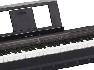 Yamaha P-45 B Stagepiano, 88 gewichtete Tasten, Graded-Hammer-Standard-Tastatur