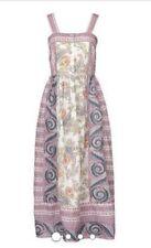 BNWT Antik Batik Maxi Dress Sz M/40 Vika Sundress 100% Cotton Floral