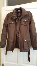H & M Military Style Jacket Size 34 khaki