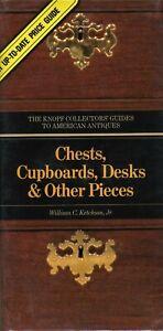 Antique American Furniture - Chests Cupboards Desks Etc. / Scarce Book