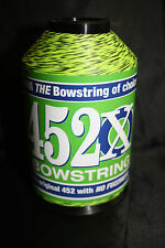 BCY 452X Bowstring Material 1/4lb Flo Yellow & Black Speckled  Bow String Making