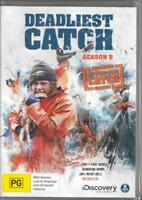 DEADLIEST CATCH SEASON 5 PLUS AFTER THE CATCH - NEW REGION 4 DVD FREE LOCAL POST