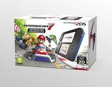 Consola Nintendo 2DS Azul/negra con Mari