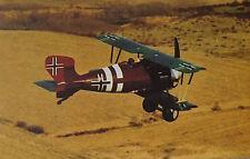 Ed Burns - Siemens-Schuckert D.IV German Air Force Postcard