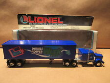 Lionel 6-12865 Wisk Tractor and Trailer O and O27 Gauge Train Layout
