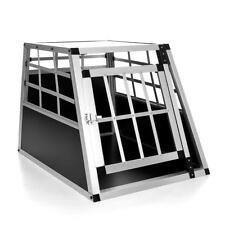 Hundetransportbox Hundebox Gitterbox Alubox Transportbox Autobox Reisebox ALU M