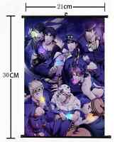 Anime Jojo JoJo's Bizarre Adventure Jotaro Wall Poster Scroll Home Decor 990