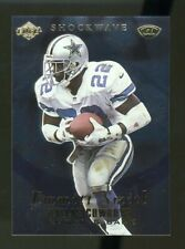 1999 Collector's Edge Advantage Shockwaves Gold #5 EMMITT SMITH Dallas Cowboys