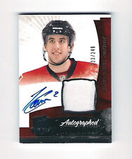 10-11 JARED COWEN THE CUP #144 AUTOGRAPH AUTO 2 COLOR PATCH #/D /249 SENATORS