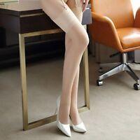 Bas classiques couleur chair pour porte-jarretelles sexy glamour pinup rétro
