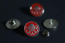 Man Agents of shield Hydra Pin Brooch Metal Badge Pin Red cosplay cool us