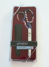 "Gingher GLORY 8"" Designer Series Limited Edition Knife Edge Scissors NIB"