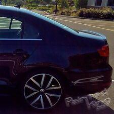 11 13 Volkswagen VW Jetta MK6 GLI SE SEL trunk lip spoiler painted LC9X/2T2T