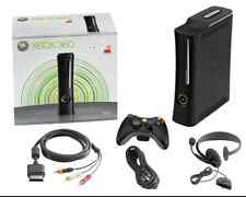 Microsoft Xbox 360 Elite Launch Edition 120 GB Matte Black Console (NTSC)