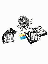 Deluxe Bingo Set , Rotary Cage With Automatic Bingo Set