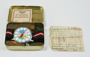 Vintage Heuer Yacht Timer, Racing, Original Box, Abercrombie & Fitch