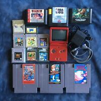 Mixed lot Nintendo Gameboy NES SEGA
