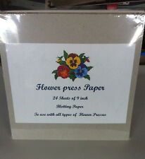 Flower press paper ebay flower press 9 inch square blotting paper mightylinksfo