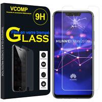 "Lot/ Pack Film Verre Trempe Protecteur pour Huawei Mate 20 Lite 6.3""/ Maimang 7"