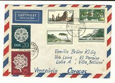 German Democratic Republic: Cover circulated diff. stamps on the front... GE343