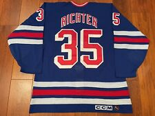 New York Rangers Mike Richter Authentic Jersey Cosby Size 50
