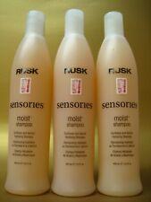 RUSK MOIST Hydrating Shampoo 13.5 oz Pack of 3