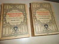 LIBRO: CRESTOMAZIA ITALIANA -G-LIPPARINI -VOL.SECONDO-TERZO-C.SIGNORELLI