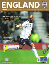 2006/07 U21 Friendly England v Italy