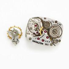 Genuine Hamilton 911 Cal. Model 17 Jewels Replacement 17J Watch Parts Movement
