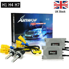 H1 H4 H7 55W Canbus Xenon Light Bulbs HID Conversion Kit 4300K-12000K Headlight