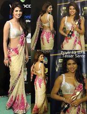 Bollywood Replica Designer Embroidery Net Saree/ Sari